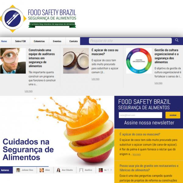 Site FOOD SAFETY BRAZIL