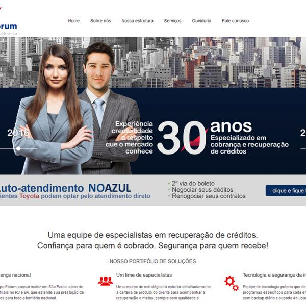 Site GRUPO FORUM